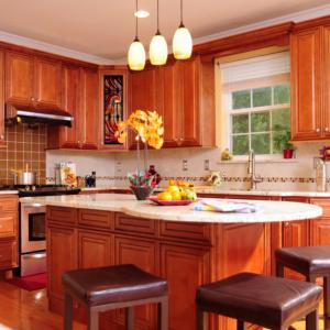 Ju0026K Cabinetry : Mocha Maple Glazed