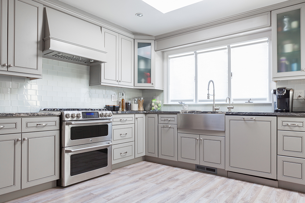 J Amp K Cabinetry Greige Maple Royal Kitchen And Flooring